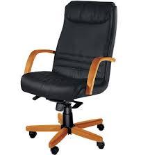fauteuil bureau cuir bois achat fauteuil de bureau de direction en bois egéon