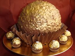 ferrero rocher tarta gigante 160 food sweet