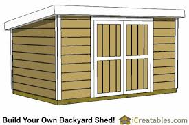 How To Build A Simple Wood Shed by 8x12 Shed Plans Buy Easy To Build Modern Shed Designs
