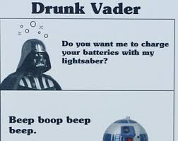 Star Wars Birthday Meme - star wars darth vader birthday card any occasion anniversary