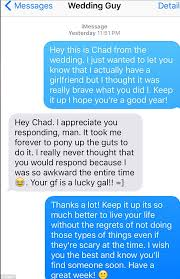 How Much To Give At A Wedding Straight Man Commends U0027brave U0027 Stranger Who Approached Him At A