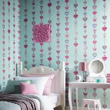 wallpapers for kids bedroom girls chic wallpaper kids bedroom feature wall decor various