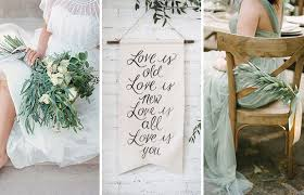 the new rustic herb u0026 greenery wedding decoration ideas
