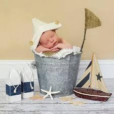 Baby Boy Photo Props Newborn Baby Boy Sailor Hat Photography Prop Newspaper Hat Vintage