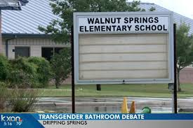 trans bathroom issues dominated dripping springs board