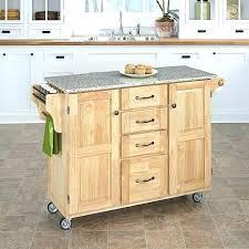 Kitchen Island With Black Granite Top Portable Kitchen Island With Granite Top U2013 Pixelkitchen Co