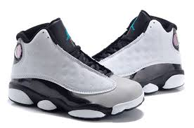 kid jordans kids air 13 retro grey black shoes reputable site fabulous