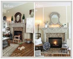 from my front porch to yours fireplace makeover diy planked wall