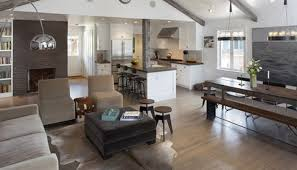 open kitchen dining and living room floor plans open plan kitchen and dining room ideas kitchen cabinets