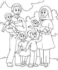 family coloring pages printable within itgod me