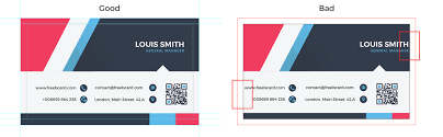 Adobe Illustrator Business Card Template With Bleed Business Card Size Specifications Freebcard