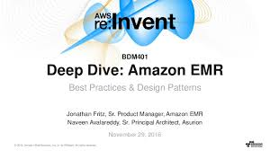 Msck Repair Table Aws Re Invent 2016 Deep Dive Amazon Emr Best Practices U0026 Design Pat U2026