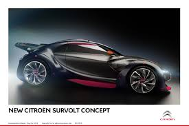 citroen survolt geneva u2013 citroen survolt poached