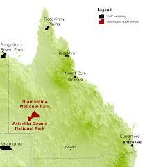 Awc Map Australian Wildlife Conservancy