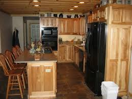 Kitchen Floor Cabinets by 94 Best Hickory Cabinets Images On Pinterest Hickory Kitchen