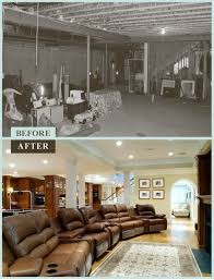 diy finished basement notice how painting ceiling beams and