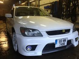 lexus is300 ducktail project from ireland white altezza rs200 lexus is forum