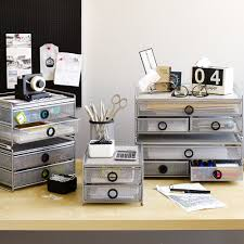 Silver Desk Accessories Digit Wide 2 Drawer Desk Organizer 3419844 29 99