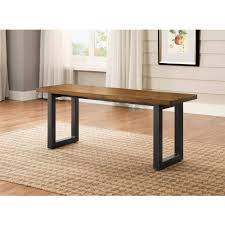 Better Homes And Gardens Dining Room Furniture Better Homes And Gardens Mercer Dining Bench Vintage Oak Finish