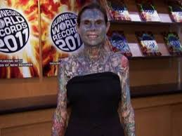 the world u0027s most tattooed woman youtube