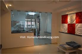 Design Ideas For Office Partition Walls Concept Kitchen Partitions Protect Smell And Smoke Cooking Enter