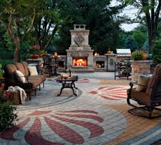 paver designs for backyard adding personal touch to concrete