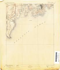 Map Of Newport Ri Rhode Island Historical Topographic Maps Perry Castañeda Map