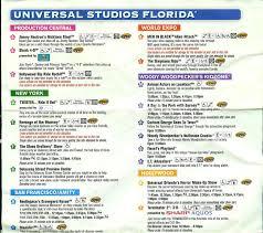 I Ride Orlando Map by 2010 2 Park Universal Orlando Map Universal Orlando Randomness
