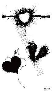 black heart tattoo google search tattoos pinterest black