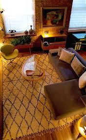 Rug Store Brooklyn Breuckelen Berber Vintage Moroccan Carpets Apartment Therapy
