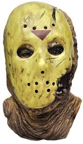 jason costume deluxe jason mask friday the 13th vii in friday the 13th