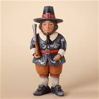 thanksgiving pilgrim figurines 10 inch thanksgiving figurines by jim shore and heartwood creek