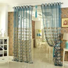 elegant embroidery craftsmanship teal sheer curtain teal and white curtains teal white and gold curtains tealwhite