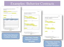 taking a look at behavior contracts lane k l menzies h m
