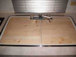 Kitchen Sink Covers Just Create Your Own Sink Cover By Using A Cardboard Template And