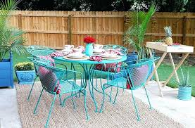 Wrought Iron Patio Tables Rod Iron Outdoor Furniture Artrio Info