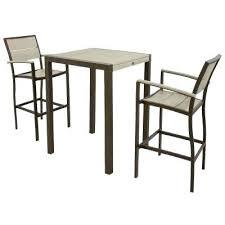5 Piece Patio Bar Set by Dining Table Winn 5 Piece Wicker Patio Bar Height Dining