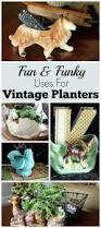 Home Decor Thrift Store Alternative Uses For Vintage Planters Repurpose Planters And