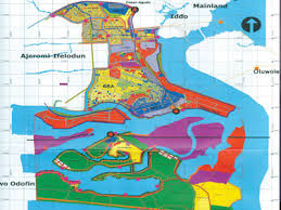 lagos city map lagos approves three new model city plans property the
