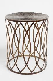 Outdoor Metal Side Table 83 Best Side Tables Images On Pinterest Accent Tables Side