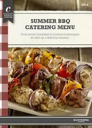 sunterra summer bbq catering menu 2014 by sunterra market issuu