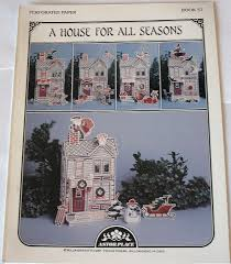 a house for all seasons perforated paper astor place cross
