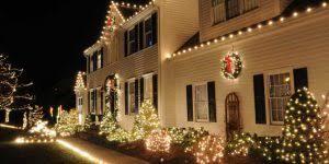 2 story christmas lights christmas lighting design installation green oasis