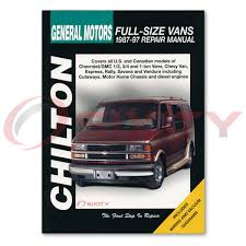 chevy p30 chilton repair manual base step van shop service garage