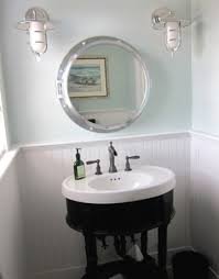 nautical mirror bathroom porthole mirror bathroom beach with laundry light blue nautical