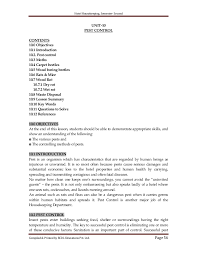 Sample Resume For Housekeeping Job In Hotel by Hotel Housekeeping