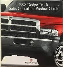 1998 dodge dakota pickup truck original owner u0027s manual 98