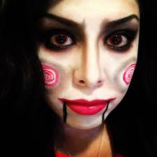 jigsaw makeup tutorial saw rubynicole85 youtube
