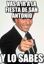 Antonio Meme - vas a ir a la fiesta de san antonio on memegen