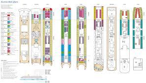 house plan britannia cruise ship deck rare aurora plans tweet